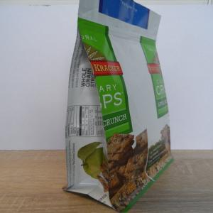 Resealable Quad Seal Food Bag Packaging With Zipper
