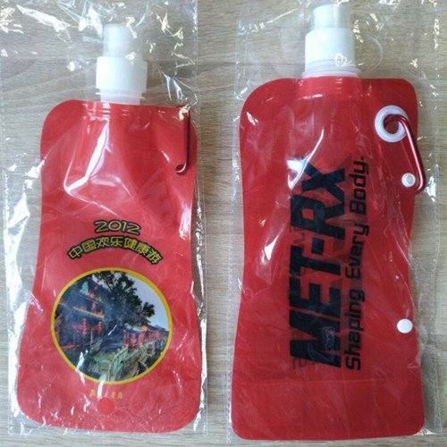 Plastic Spout Pouch Packaging Bags For Liquid